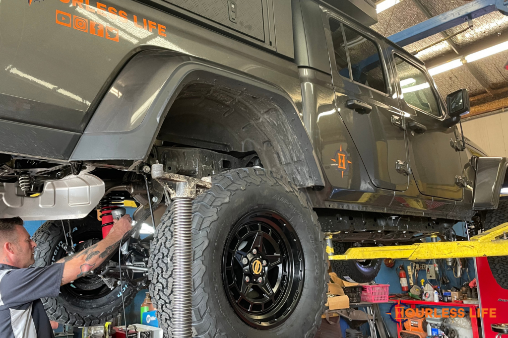 Jeep Gladiator Modifications for Overlanding