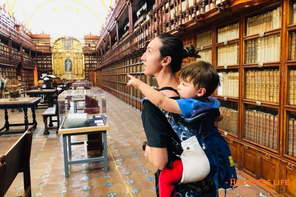 Travel Promotes Language Growth in Children