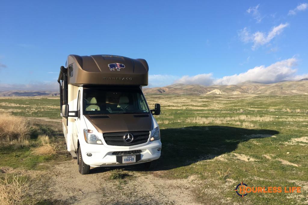 Free Dry Camping in California