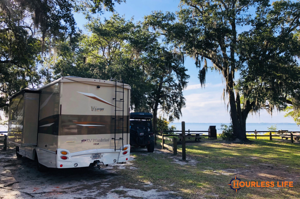 Boondocking With Kids on the Water