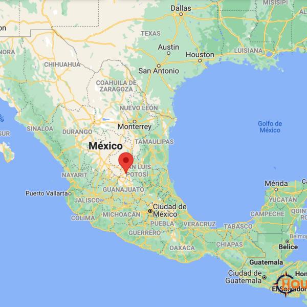 Ciudad de San Luis Potosi Map