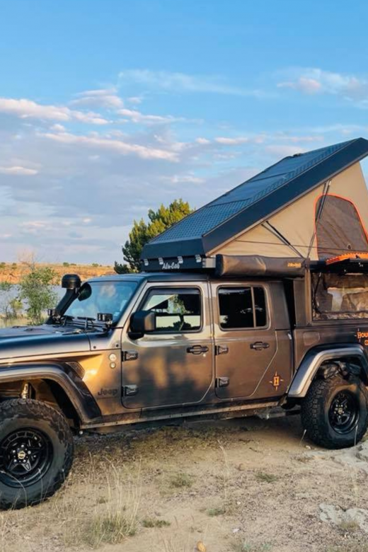 Jeep Gladiator Build Sheet for International Overlanding